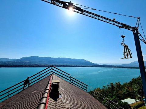entreprise de cordistes pour vos travaux en accès difficiles à Aix-les-Bains