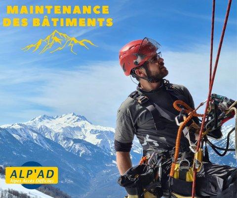 ALP'AD : Maintenance de bâtiment en montagne à Chambéry