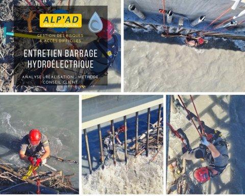ALP'AD  Entretien barrage Hydroélectrique à Chambéry