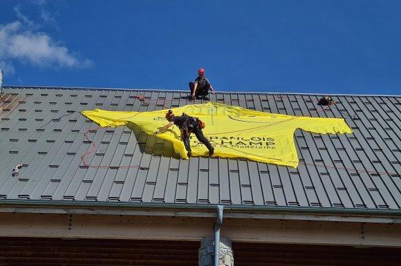 Entreprise spécialisée dans la pose et l'installation de banderoles évènementielles à Chambéry