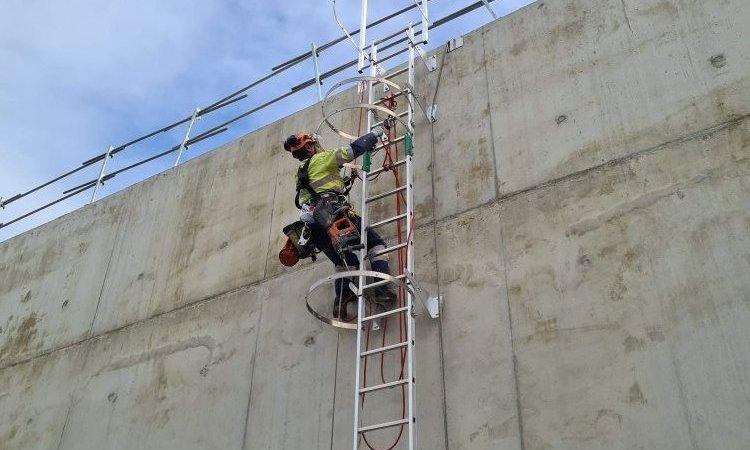 Entreprise pour l'installation d'échelle et ligne de vie à Chambéry