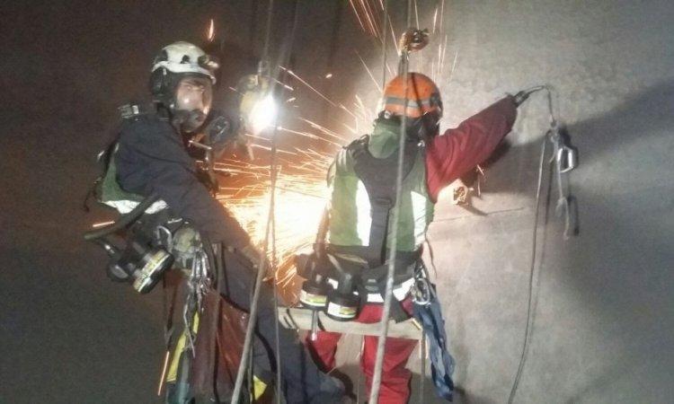 Professionnel pour intervention dans un silo industriel Chambéry et ses environs